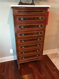 Chest with multiple drawers