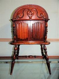 Antique Tobacco / Cigar Humidor Cabinet