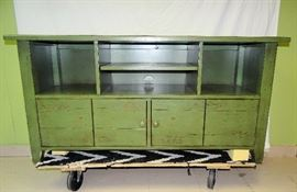 Great Distressed TV Stand / Entertainment Center