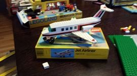 1985 legos with boxes