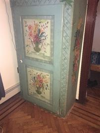 Antique wood armoire. Gently used.