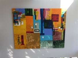 Monumental  Shawn Mcnulty  Original oil on canvases , 8ftx7ft