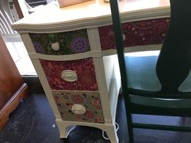 Fabric Front Drawers