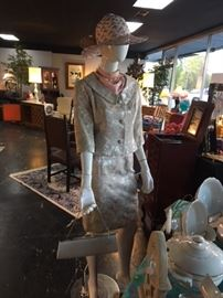 We have many pieces of VINTAGE Ladies Clothing, 1950-1960's era...