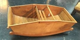 "Child's Rocking ""NOAH"" Boat"