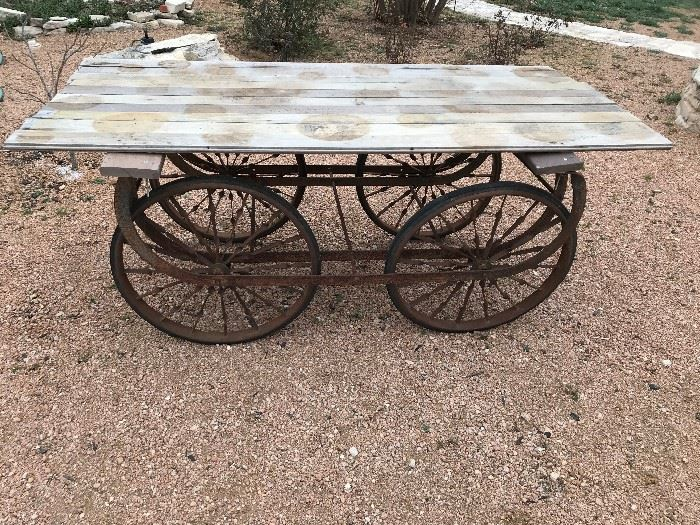Old Wagon Wheels Base