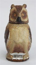 Lot 16: Villeroy & Boch Owl Stein Mettlach