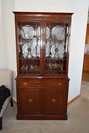 Display cabinet by Northern Furniture Co, Sheboygan, WI