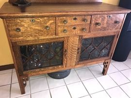 Gorgeous antique buffet server