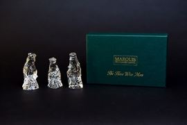 Waterford Crystal Marquis Nativity Six Piece Set