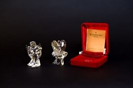 Waterford Crystal Millenium 3rd Edition Angel Of Fellowship Ornaments