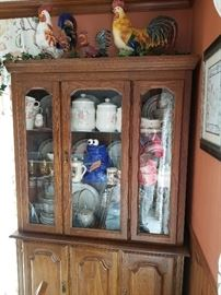 Matching Curio Cabinet
