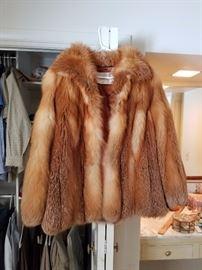 Clyde Burtrum, Red Fox Fur