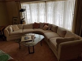 Sofa is sold, glass table still available