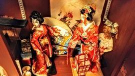 Vintage Girls Day dolls