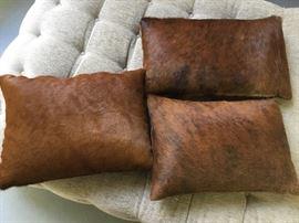 Animal skin pillows $45 each