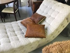 One of a kind chaise rocker. $900
