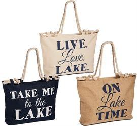 New Lake Totes Bags