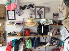 Handbags, Hats, Scarfs, Excessories