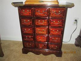 Small Decorative Multi-Drawer Cabinet