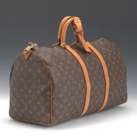 Louis Vuitton Keepall 50 Monogram Canvas Travel Bag