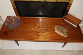 Mid Century Modern 1960s coffee table/Kipp Stewart & Stewart MacDougall for Drexel Walnut Coffee Tab (small stain left side- AS IS Price $325.00