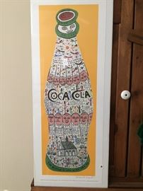 Signed print by Howard Finster
