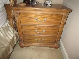 Matching bachelor's chest or nightstand