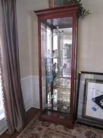 Display cabinet-some items inside will not be for sale.  We will update this photo the week of the sale