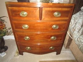 "One of a pair of Henredon ""Aston Court"" nightstands"