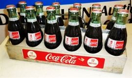 Vintage Coca-Cola 12-Bottle Aluminum Carrier
