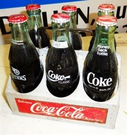 Vintage Coca-Cola 6-Bottle Aluminum Carrier