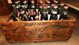 Vintage Coca-Cola Wood Crate