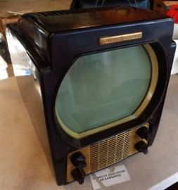 Vintage General Electric Television