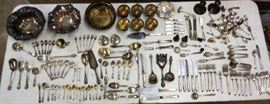 200 pieces of antique and vintage Sterling Silver
