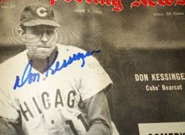 Baseball Autograph- Don Kessinger