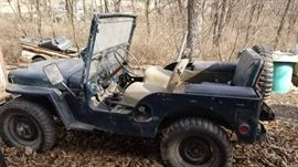 1951 Jeep Willies M-38