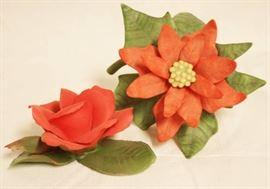 Lenox Poinsettia - 1991 Fine Porcelain & Beautiful ...