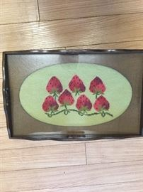 Needle Point Tray
