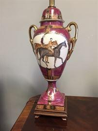 Equestrian Lamp