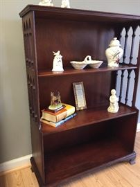Beautiful Mahogony Floor Shelf
