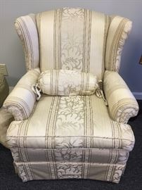 Very Nice Upholstered Occasional Chair