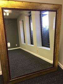 "50"" X  60"" Large Beveled Mirror"
