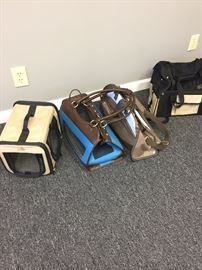Assorted Dog Carriers