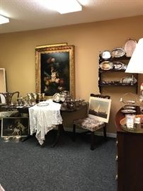 Loads of quality Silver Plate for entertaining!