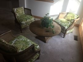 Mid Centry table and chairs