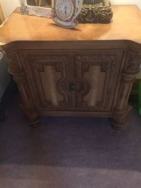 Mid century French handcarved nightstands