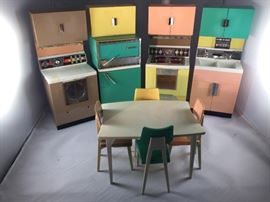 Vintage Barbie Kitchen