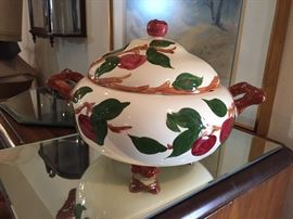 Franciscan Apple Soup Tureen - rare