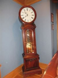 Unique Howard Miller Engels grandfather clock